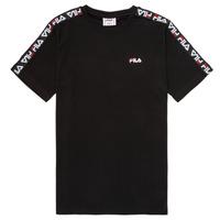 textil Børn T-shirts m. korte ærmer Fila FREDDY Sort