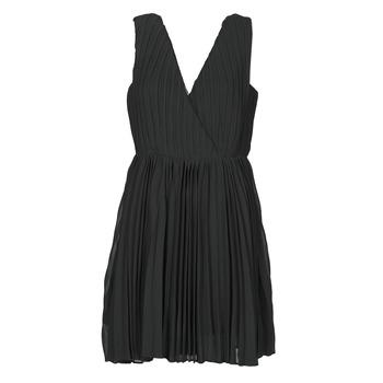 textil Dame Korte kjoler Moony Mood MINIZIA Sort