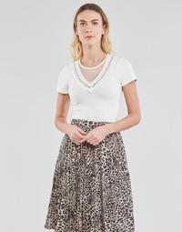 textil Dame Toppe / Bluser Moony Mood DURINO Hvid