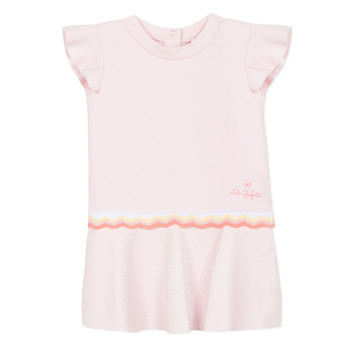 textil Pige Korte kjoler Lili Gaufrette NARITTE Pink