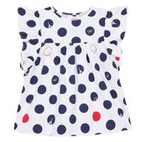 textil Pige Toppe / Bluser Lili Gaufrette COLINE Hvid