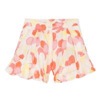 textil Pige Shorts Lili Gaufrette LORIA Flerfarvet