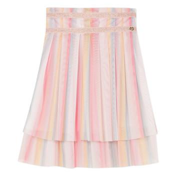 textil Pige Nederdele Lili Gaufrette MIREILLE Flerfarvet