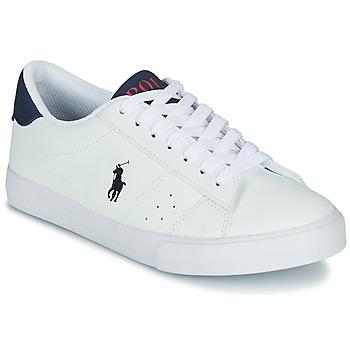 Sko Børn Lave sneakers Polo Ralph Lauren THERON Hvid