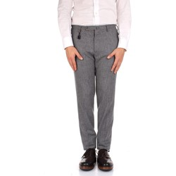textil Herre Habit bukser Incotex 1AT091 1721T Grey