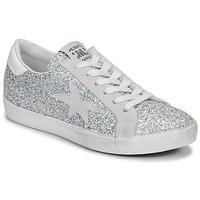Sko Dame Lave sneakers Meline GARAMINE Hvid / Sølv