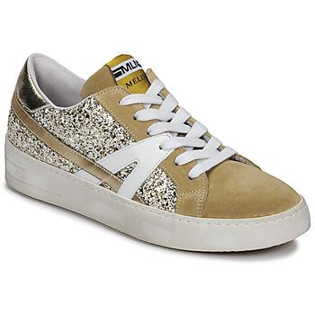Sko Dame Lave sneakers Meline GERIE Guld