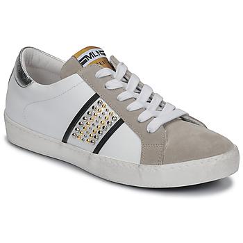 Sko Dame Lave sneakers Meline GARILOU Hvid / Beige