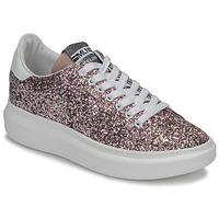 Sko Dame Lave sneakers Meline GEYSI Glitter / Pink