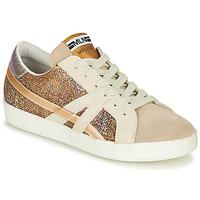 Sko Dame Lave sneakers Meline GALLI Guld
