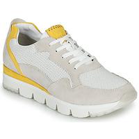 Sko Dame Lave sneakers Marco Tozzi 2-23754 Hvid / Gul
