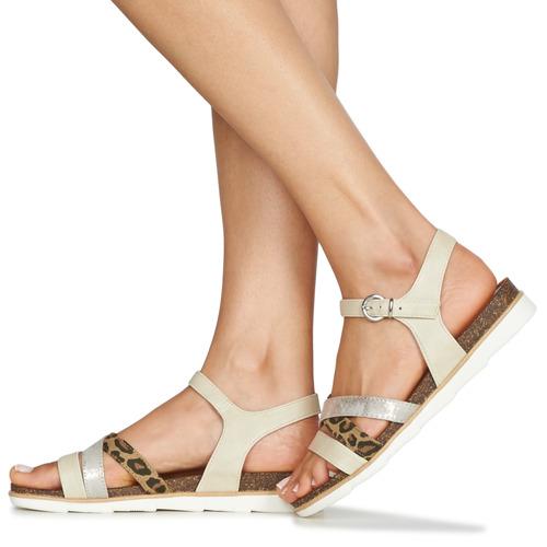 2-28410  Marco Tozzi  sandaler  dame  beige IwJyH