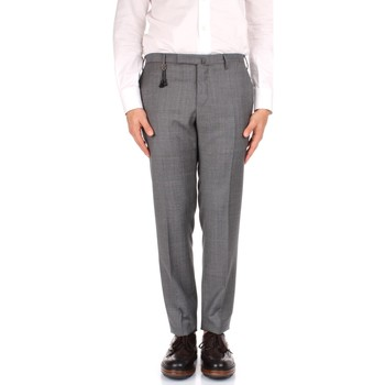 textil Herre Chinos / Gulerodsbukser Incotex 1AT030 1010T Grey