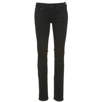 textil Dame Lige jeans G-Star Raw ATTACC MID STRAIGHT Sort