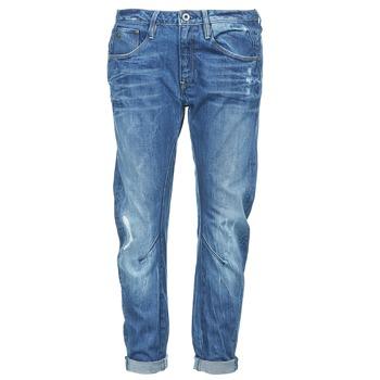 textil Dame Jeans - boyfriend G-Star Raw ARC 3D LOW BOYFRIEND Watton / DENIM / MEDIUM / ældet / Destroy