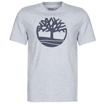 textil Herre T-shirts m. korte ærmer Timberland SS KENNEBEC RIVER BRAND TREE TEE Grå