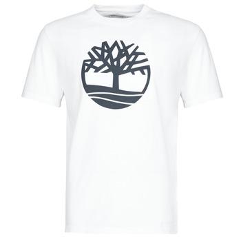 textil Herre T-shirts m. korte ærmer Timberland SS KENNEBEC RIVER BRAND TREE TEE Hvid