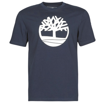 textil Herre T-shirts m. korte ærmer Timberland SS KENNEBEC RIVER BRAND TREE TEE Marineblå