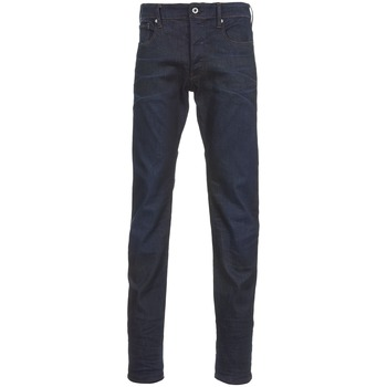 textil Herre Lige jeans G-Star Raw 3301 TAPERED Visor / Stretch / Denim / Mørk / Ældet