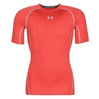 textil Herre T-shirts m. korte ærmer Under Armour UA HEATGEAR ARMOUR Rød