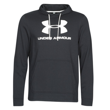 textil Herre Sweatshirts Under Armour SPORTSTYLE TERRY LOGO HOODIE Sort
