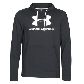 textil Herre Sweatshirts Under Armour SPORTSTYLE TERRY LOGO HOODIE Sort