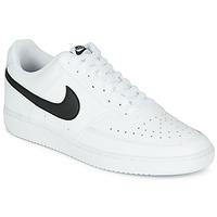 Sko Herre Lave sneakers Nike COURT VISION LOW Hvid / Sort