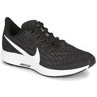 Sko Dame Løbesko Nike ZOOM PEGASUS 36 Sort / Hvid