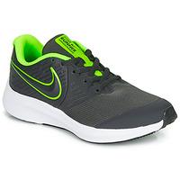 Sko Dreng Multisportsko Nike STAR RUNNER 2 GS Sort / Grøn