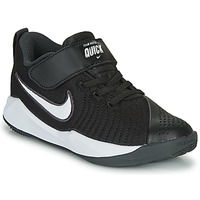 Sko Børn Multisportsko Nike TEAM HUSTLE QUICK 2 PS Sort / Hvid