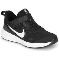 Sko Børn Multisportsko Nike REVOLUTION 5 PS Sort / Hvid
