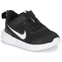 Sko Børn Multisportsko Nike REVOLUTION 5 TD Sort / Hvid