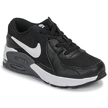 Sko Børn Lave sneakers Nike AIR MAX EXCEE PS Sort / Hvid