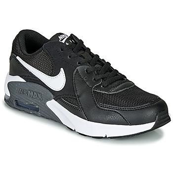 Sko Børn Lave sneakers Nike AIR MAX EXCEE GS Sort / Hvid