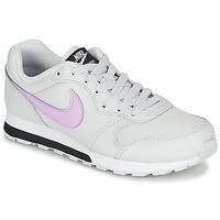 Sko Pige Lave sneakers Nike MD RUNNER GS Hvid / Pink