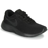 Sko Børn Lave sneakers Nike TANJUN GS Sort