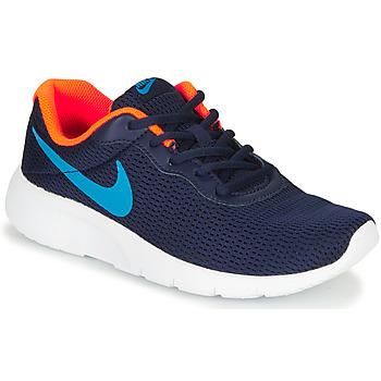 Sko Dreng Lave sneakers Nike TANJUN GS Blå