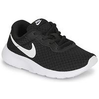 Sko Børn Lave sneakers Nike TANJUN PS Sort / Hvid