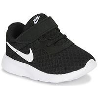 Sko Børn Lave sneakers Nike TANJUN TD Sort / Hvid