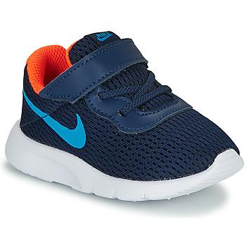 Sko Dreng Lave sneakers Nike TANJUN TD Blå