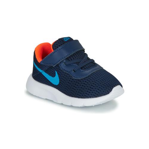 ganska billigt bättre anländer Nike TANJUN TD Blå - Gratis fragt | Spartoo.dk ! - Sko Lave ...