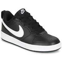 Sko Børn Lave sneakers Nike COURT BOROUGH LOW 2 GS Sort / Hvid