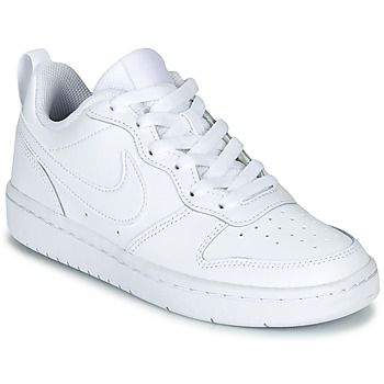 Sko Børn Lave sneakers Nike COURT BOROUGH LOW 2 GS Hvid