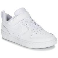 Sko Børn Lave sneakers Nike COURT BOROUGH LOW 2 PS Hvid