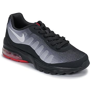Sko Børn Lave sneakers Nike AIR MAX INVIGOR GS Sort / Rød
