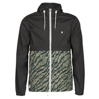 textil Herre Vindjakker Volcom HOWARD HOODED Sort