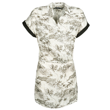 textil Dame Korte kjoler Volcom VACAY ME SS DRESS Hvid