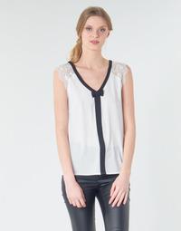 textil Dame Toppe / Bluser Naf Naf CORAZON Hvid
