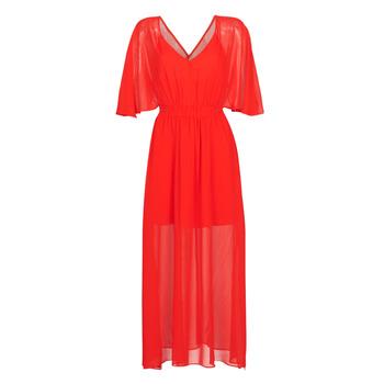 textil Dame Lange kjoler Naf Naf CAMILLE R1 Rød