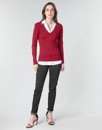 textil Dame Lærredsbukser Morgan PETRA Sort